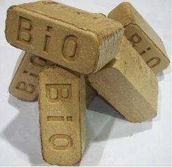 Bio Bricks Pressed Brick Fuel
